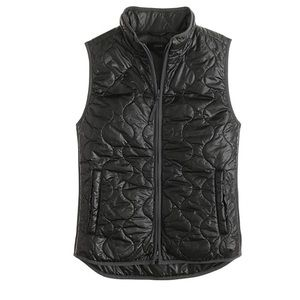 J. Crew Black Layering vest with Primaloft size L